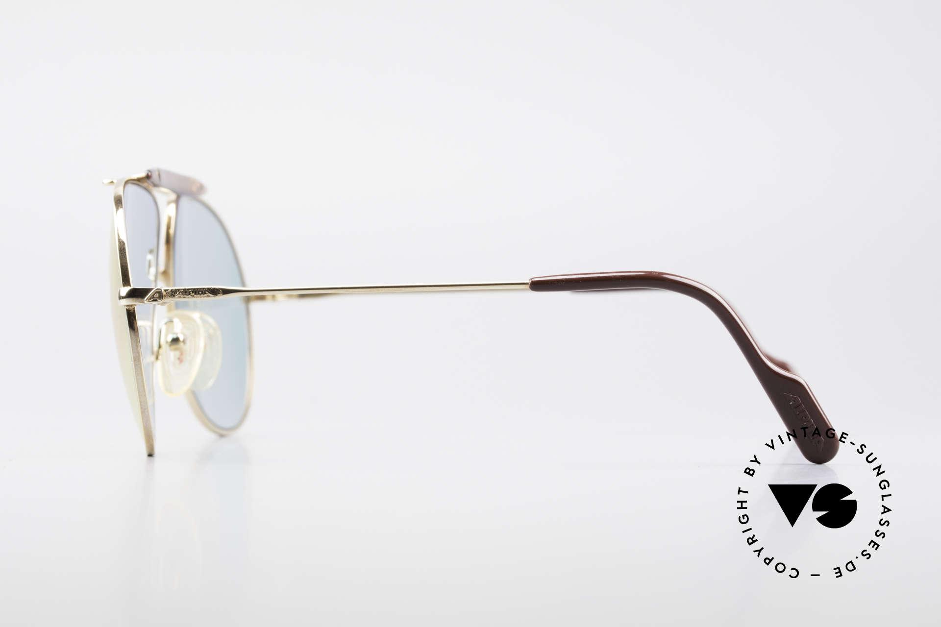 Alpina PC73 ProCar Serie Sonnenbrille Men, vergoldete Fassung in Größe 59/14; mit Etui von Chanel, Passend für Herren und Damen