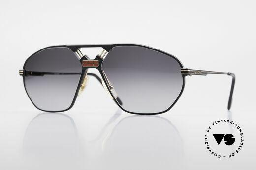 Ferrari F22 80er Luxus Sonnenbrille XL Details