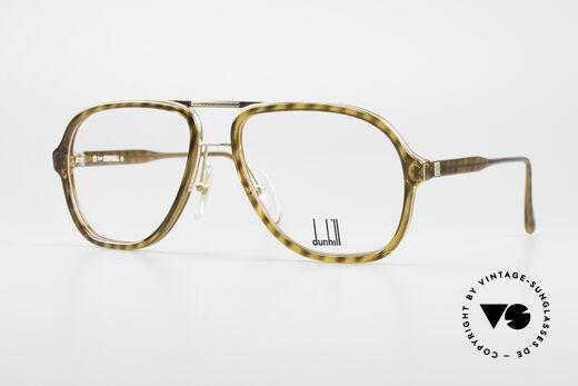 Dunhill 6077 80er Herren Vintage Brille Details