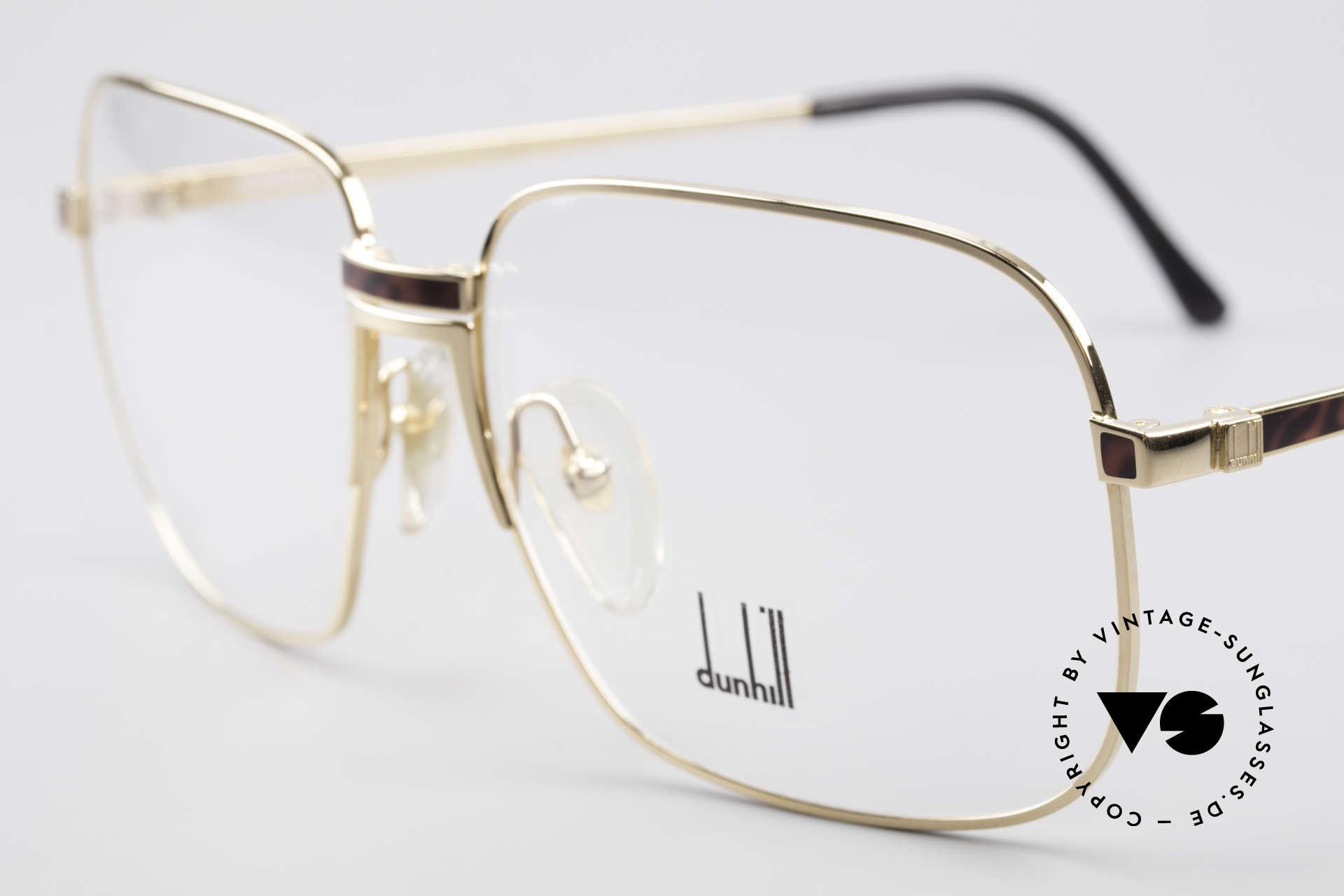 Dunhill 6090 Chinalack 90er Herrenbrille, mit Chinalack (viele Schichten verschiedener Lacke), Passend für Herren