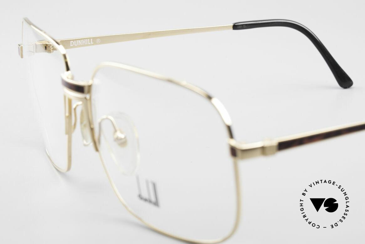 Dunhill 6090 Chinalack 90er Herrenbrille, ungetragen mit original Etui (wahres Sammlerstück), Passend für Herren
