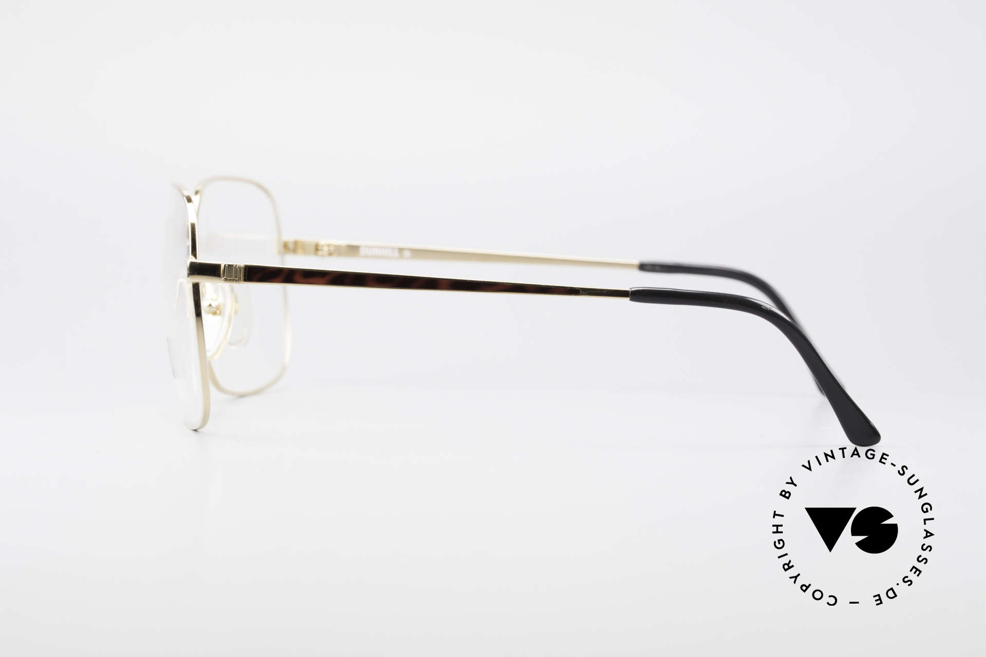 Dunhill 6090 Chinalack 90er Herrenbrille, KEIN RETRO, sondern ein kostbares altes ORIGINAL!, Passend für Herren
