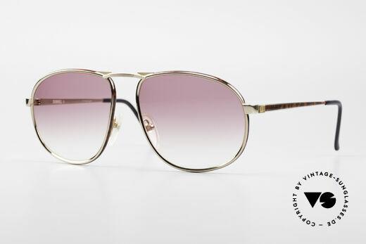 Dunhill 6051 80er Titanium Sonnenbrille Details