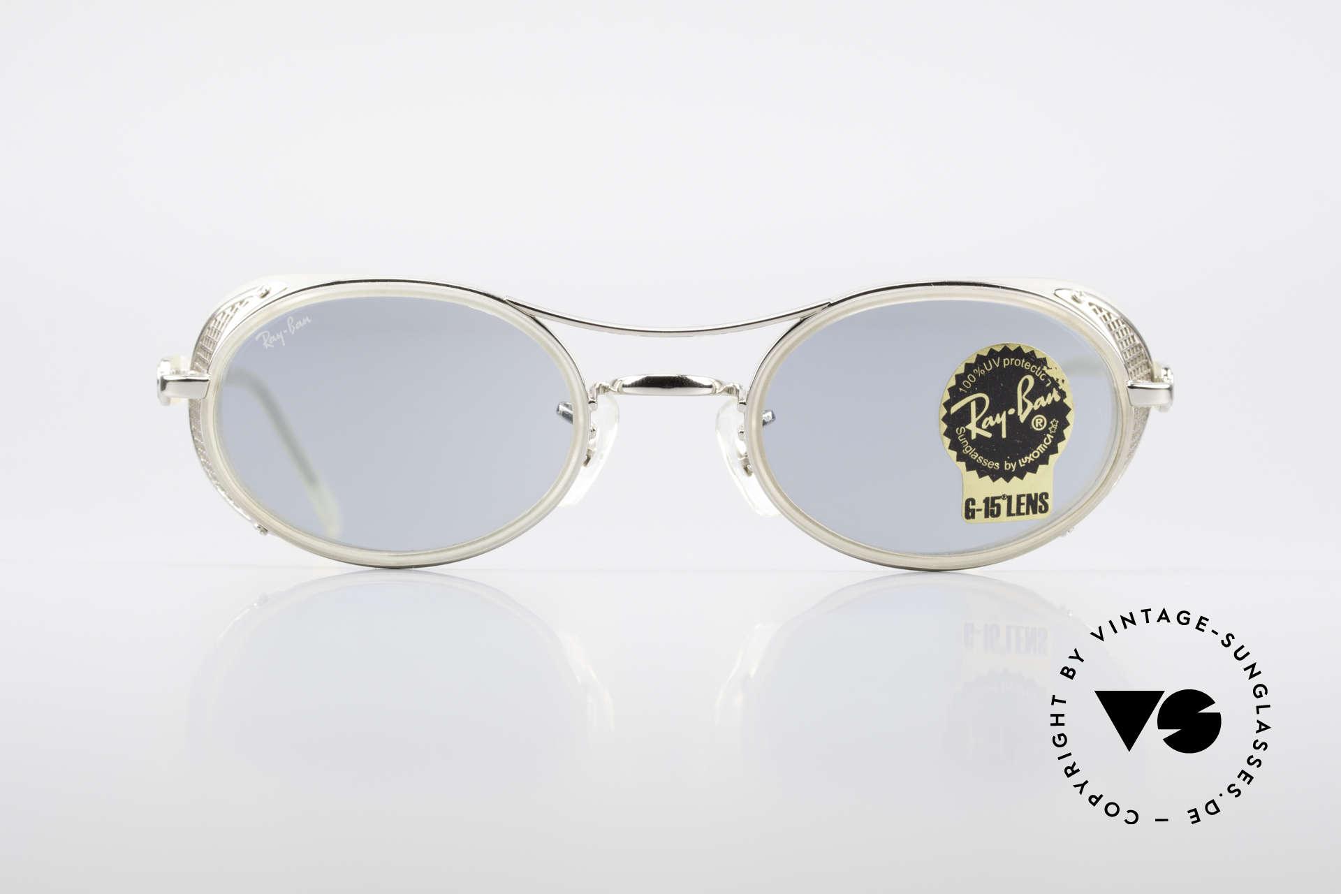 Professionel 100% Zufriedenheit gute Textur Ray Ban Chaos RB3140 Steampunk Industrial Brille