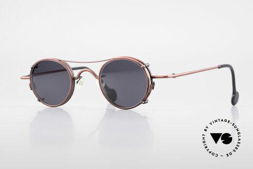 L.A. Eyeworks BODHI 427 Vintage Brille mit Sonnenclip Details