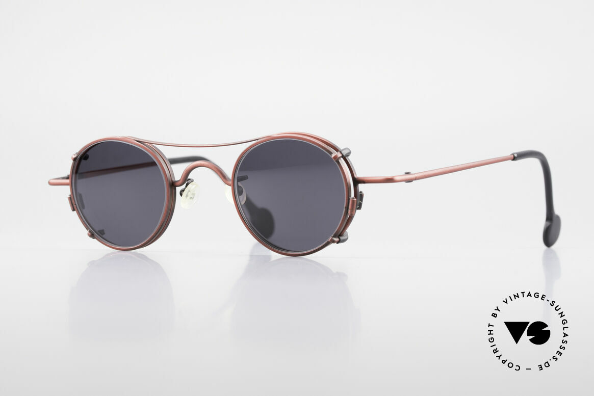 L.A. Eyeworks BODHI 427 Vintage Brille mit Sonnenclip