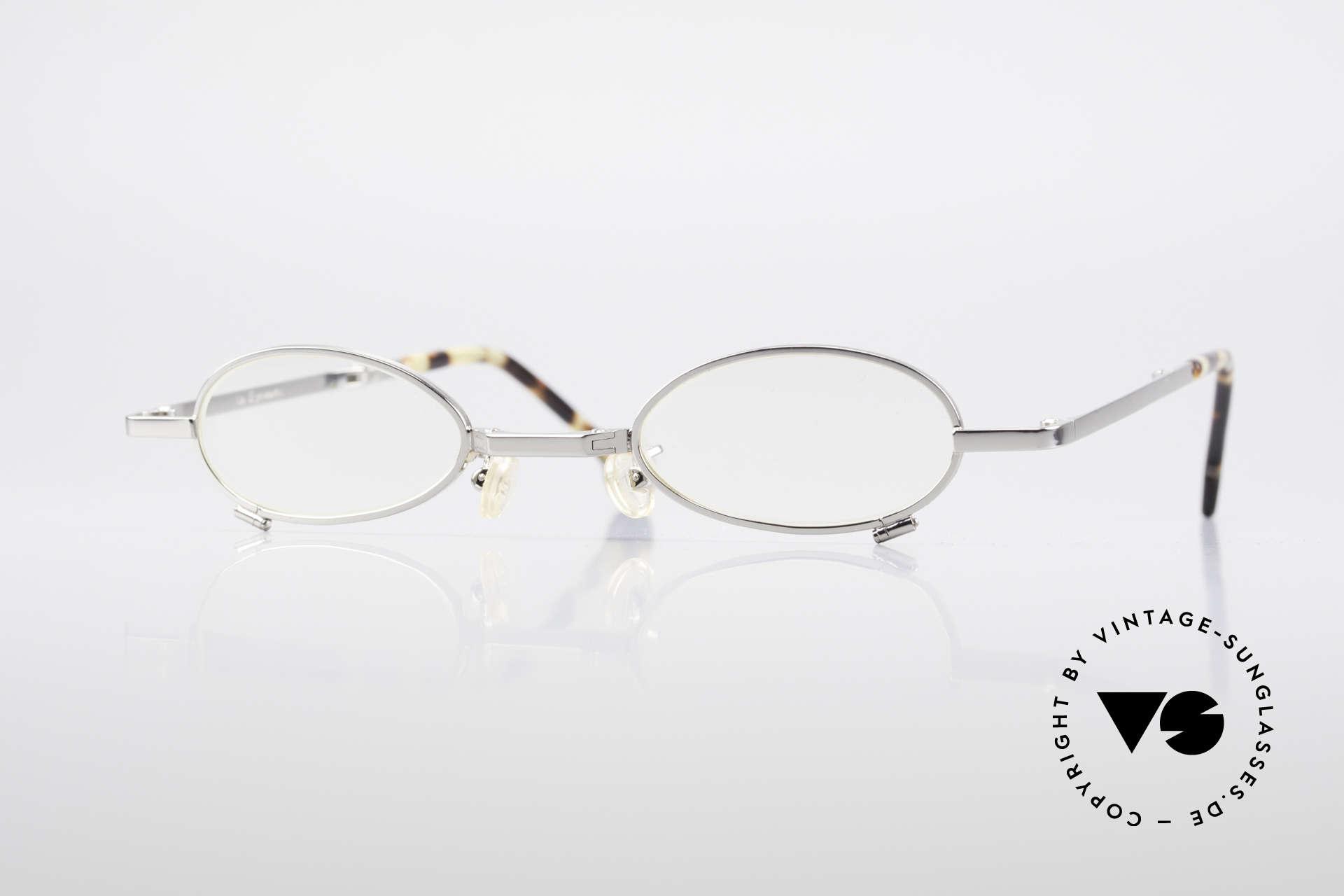 L.A. Eyeworks TIO 405 Faltbrille Brille zum Falten, L.A. EYEWORKS: Kleinstserien aparter Brillenmodelle, Passend für Herren und Damen