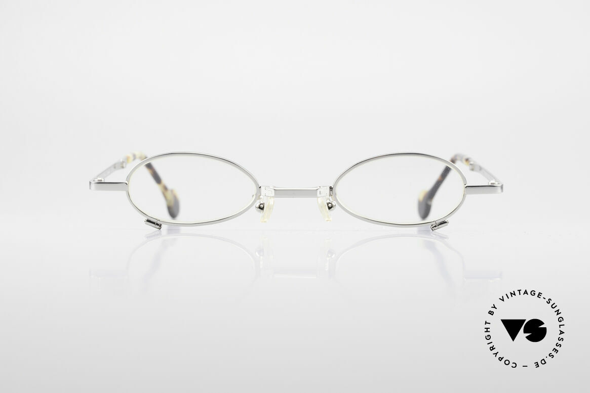 L.A. Eyeworks TIO 405 Faltbrille Brille zum Falten, handgefertigt, mit den charakteristischen Bügelenden, Passend für Herren und Damen