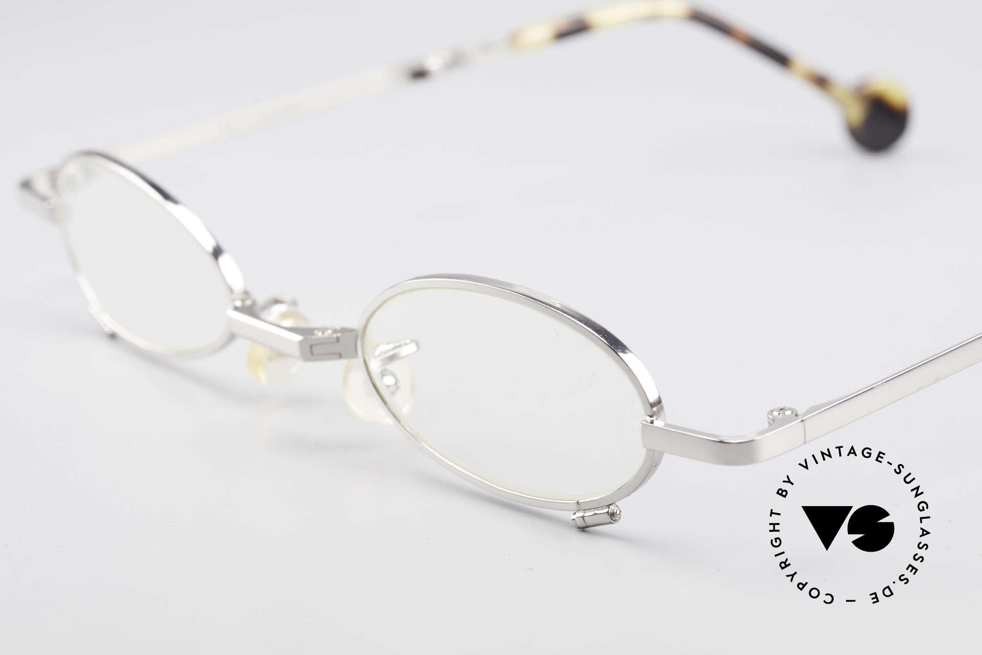 L.A. Eyeworks TIO 405 Faltbrille Brille zum Falten, praktische, faltbare Fassung (passt in fast jede Tasche), Passend für Herren und Damen