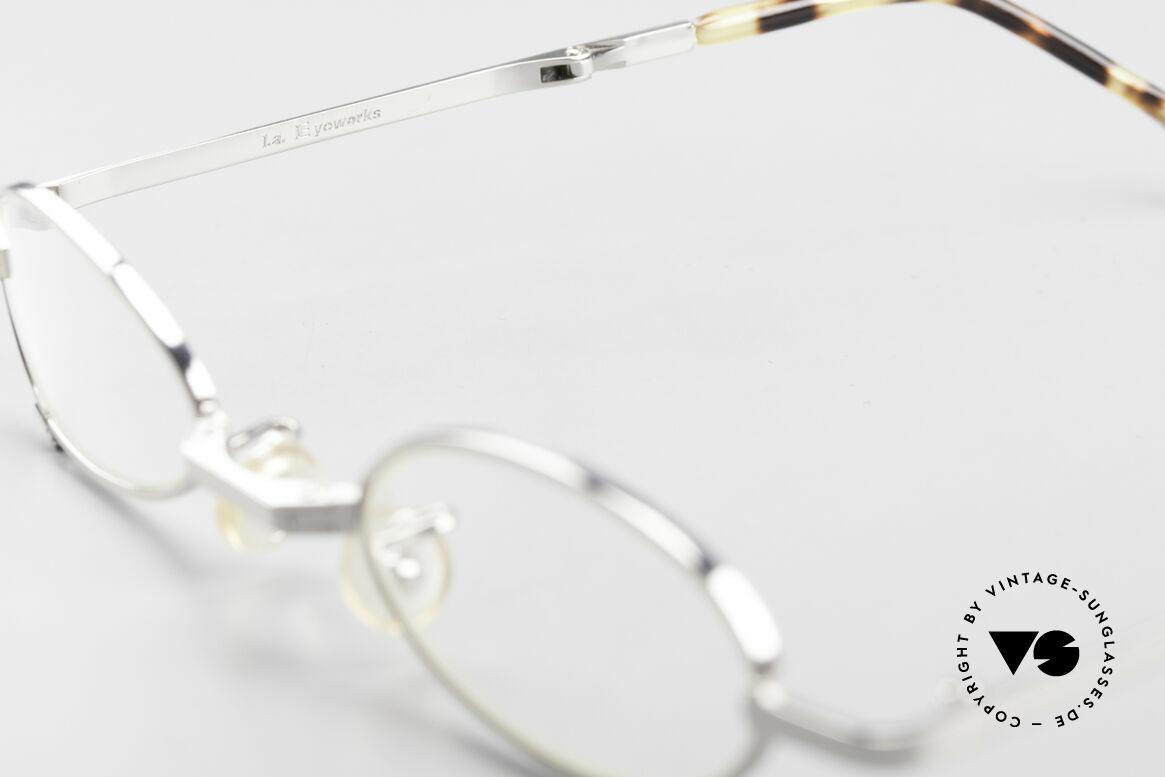 L.A. Eyeworks TIO 405 Faltbrille Brille zum Falten, ungetragen (wie all unsere vintage L.A.E. Lesebrillen), Passend für Herren und Damen