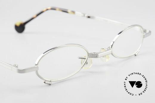 L.A. Eyeworks TIO 405 Faltbrille Brille zum Falten, KEINE Retromode; ein altes Original (Los Angeles '94), Passend für Herren und Damen