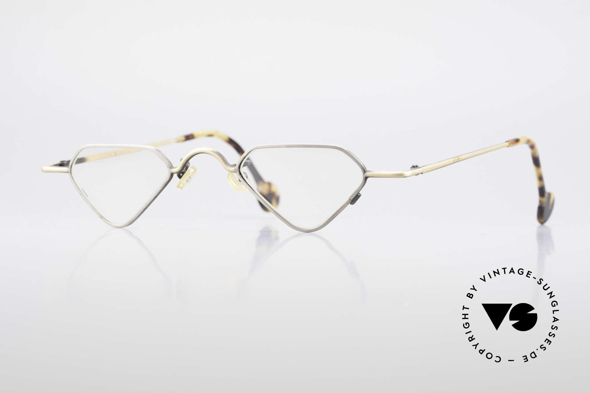 L.A. Eyeworks Millie 403 Außergewöhnliche Lesebrille, interessante vintage Lese-Brille von L.A. EYEWORKS, Passend für Herren und Damen