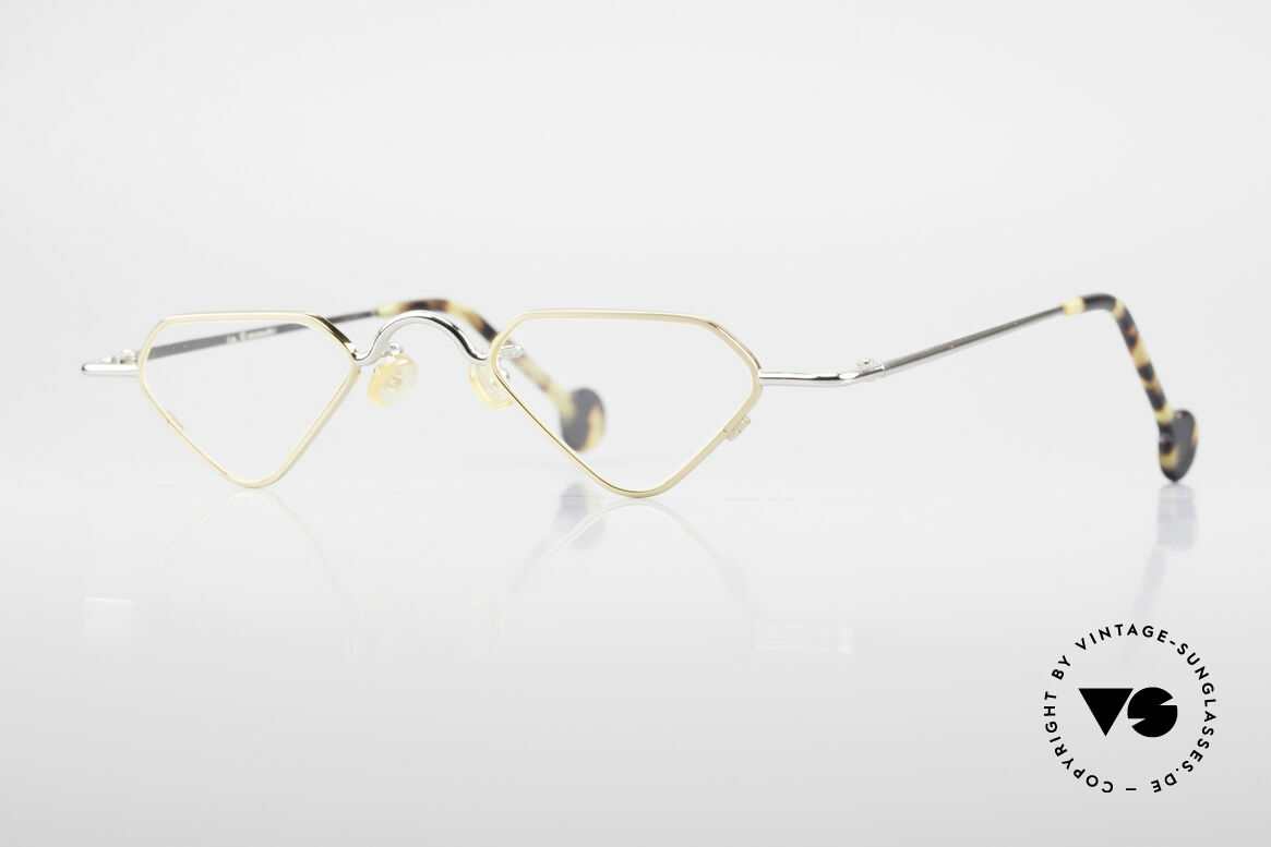 L.A. Eyeworks Millie 451 Lesebrille Wie Ein Diamant, interessante vintage Lese-Brille von L.A. EYEWORKS, Passend für Herren und Damen
