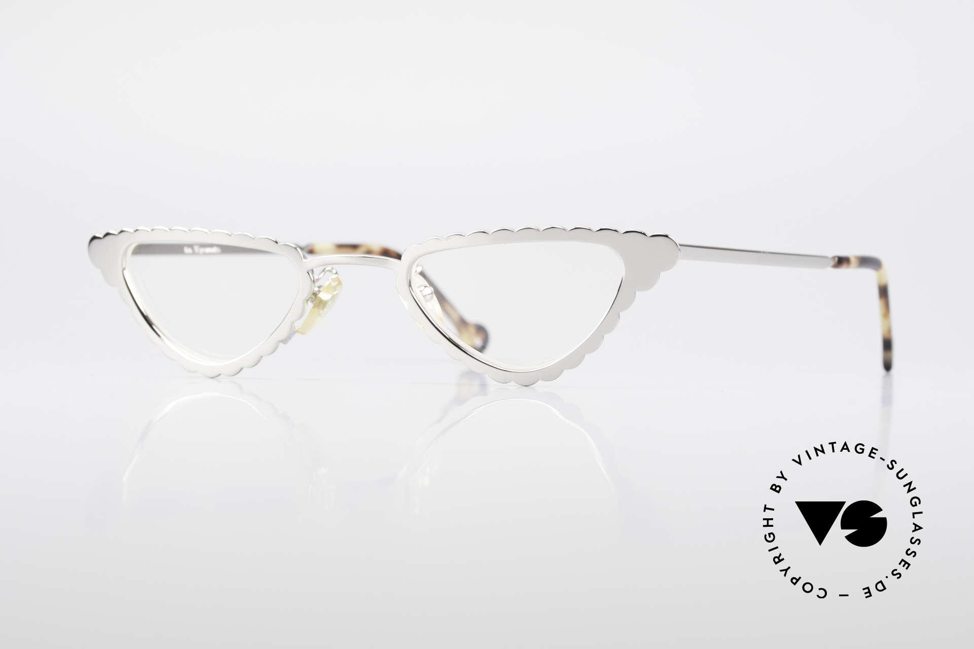 L.A. Eyeworks Macaroni 405 Lesebrille Wie Ein Blatt, tolle vintage Damen Lese-Brille von L.A. EYEWORKS, Passend für Damen