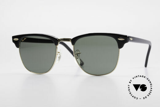 Ray Ban Clubmaster Bausch & Lomb USA W0365 Details