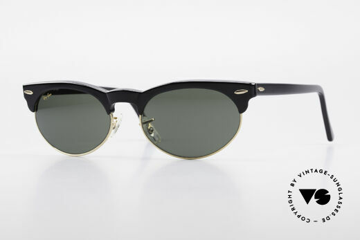 Ray Ban Oval Max 80er Bausch & Lomb Brille B&L Details