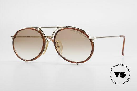 Porsche 5661 Echte 90er Sonnenbrille Rund Details