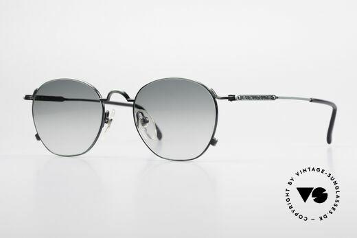 Jean Paul Gaultier 55-0171 90er Panto Style Sonnenbrille Details