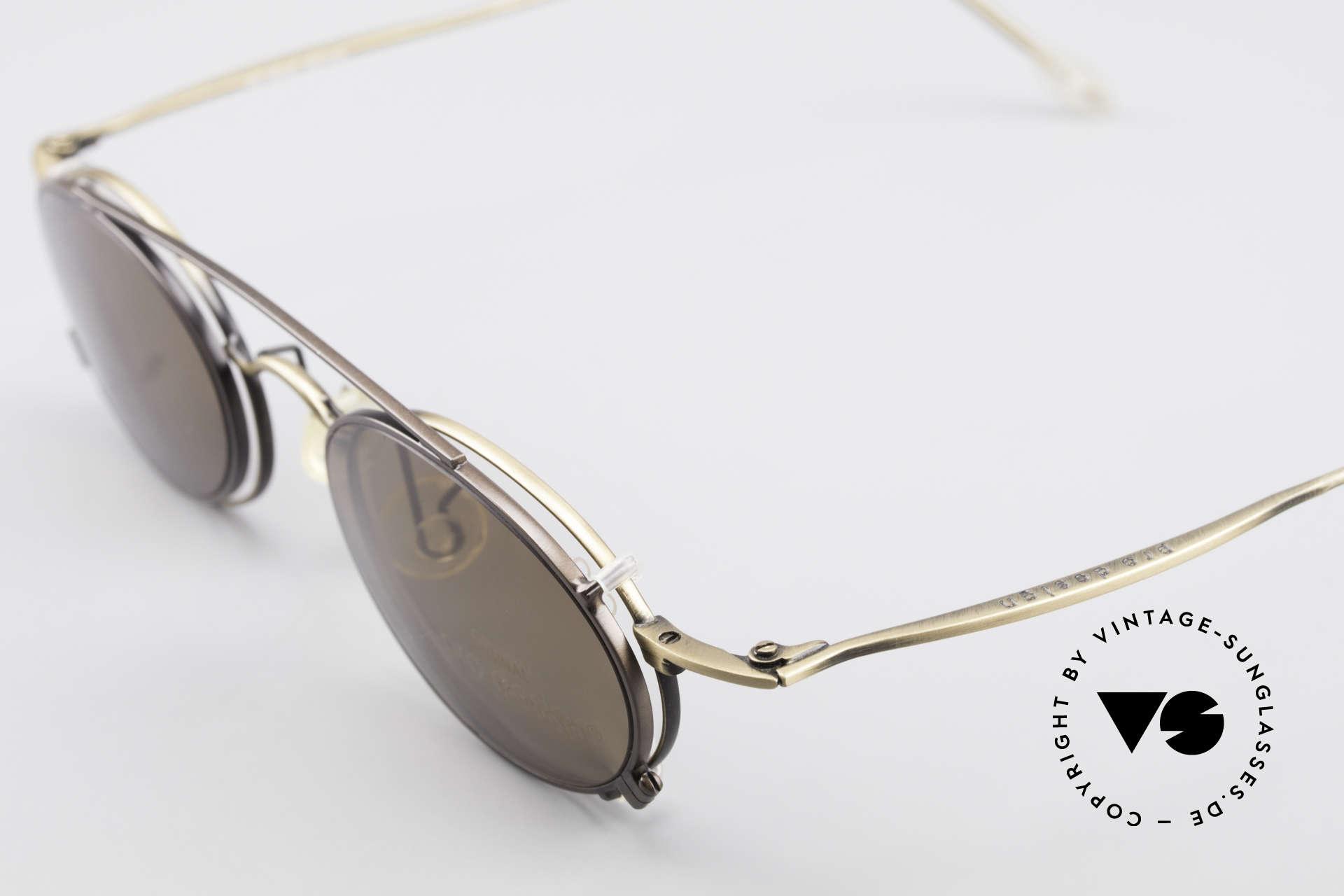 ProDesign P806 Clip On Sonnenbrille Polar, POLARisierender Sonnen-Clip für optimalen UV-Schutz, Passend für Herren und Damen
