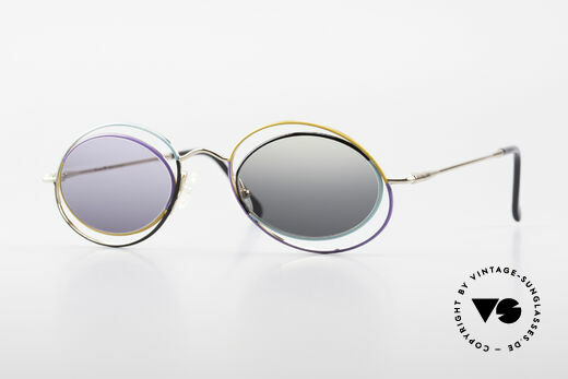 Casanova LC18 Vintage Kunstsonnenbrille Details