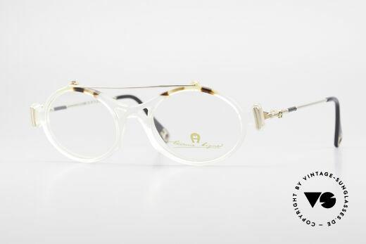 Aigner EA56 Echt 80er Luxus Brillenfassung Details