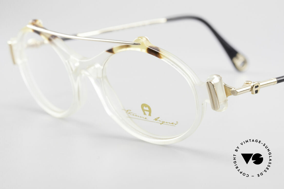 """Aigner EA56 Echt 80er Luxus Brillenfassung, ein echtes """"Must-Have"""" für Kenner & Modeliebhaber, Passend für Damen"""