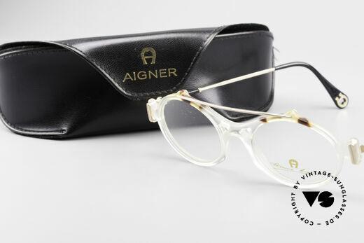 Aigner EA56 Echt 80er Luxus Brillenfassung, Größe: small, Passend für Damen