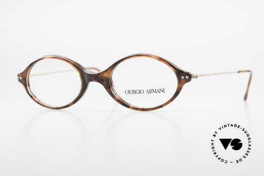 Giorgio Armani 378 90er Unisex Brille Oval Details