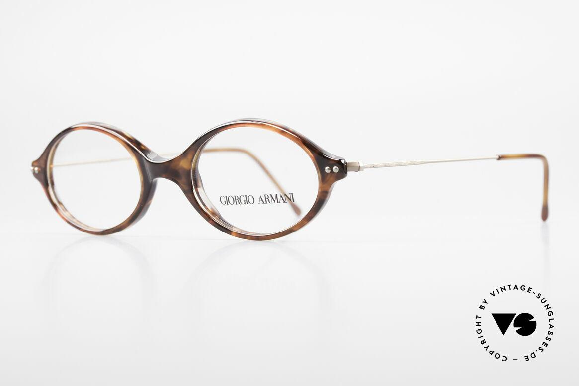 Giorgio Armani 378 90er Unisex Brille Oval