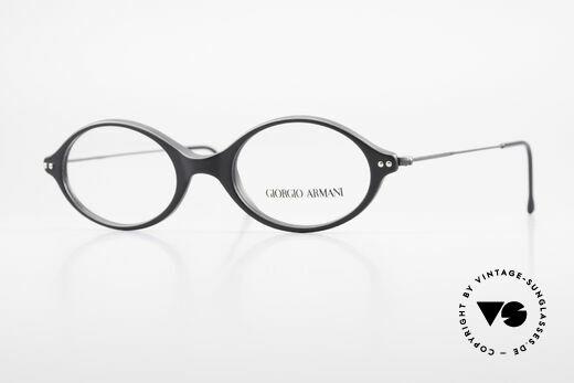 Giorgio Armani 378 90er Unisex Fassung Oval Details