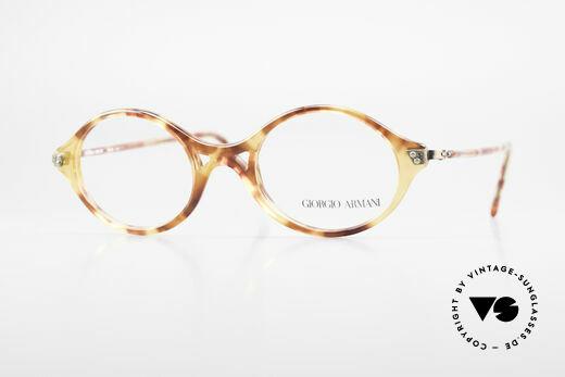 Giorgio Armani 339 Kleine Ovale Vintage Brille Details