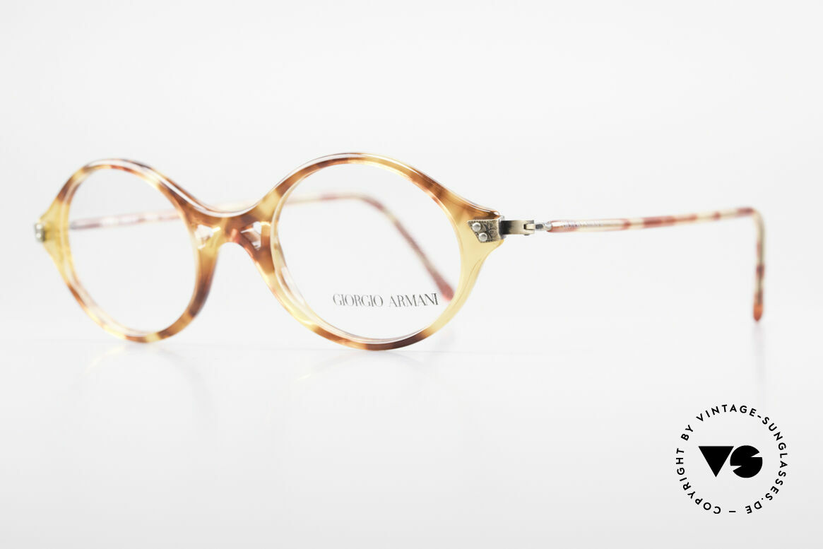 Giorgio Armani 339 Kleine Ovale Vintage Brille