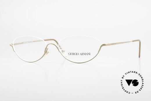 Giorgio Armani 1080 Alte 90er Designer Lesebrille Details
