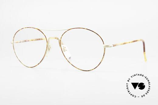 Giorgio Armani 120 Vintage Aviator Brille Herren Details