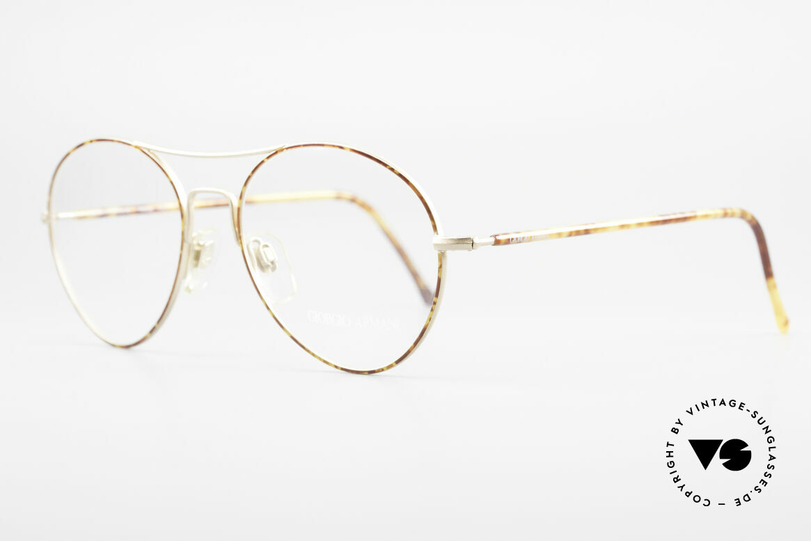 Giorgio Armani 120 Vintage Aviator Brille Herren