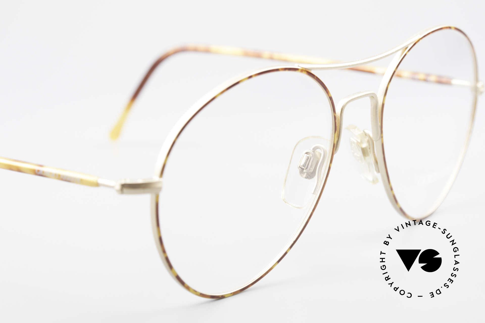Giorgio Armani 120 Vintage Aviator Brille Herren, ungetragen (wie all unsere 1980er Jahre Klassiker), Passend für Herren