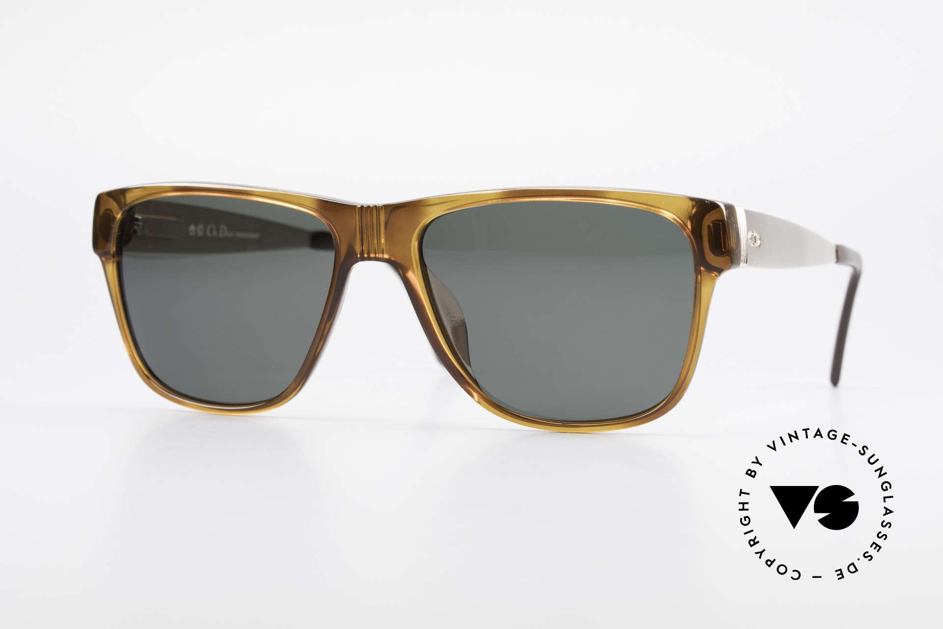 Christian Dior 2406 Vintage Dior Monsieur Serie, Dior vintage Sonnenbrille aus den frühen 1980ern, Passend für Herren