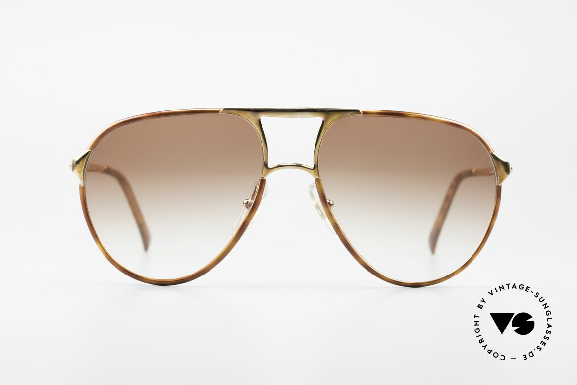 Christian Dior 2505 Designer Aviator Sonnenbrille, Luxus-Designersonnenbrille aus dem Jahre 1988, Passend für Herren