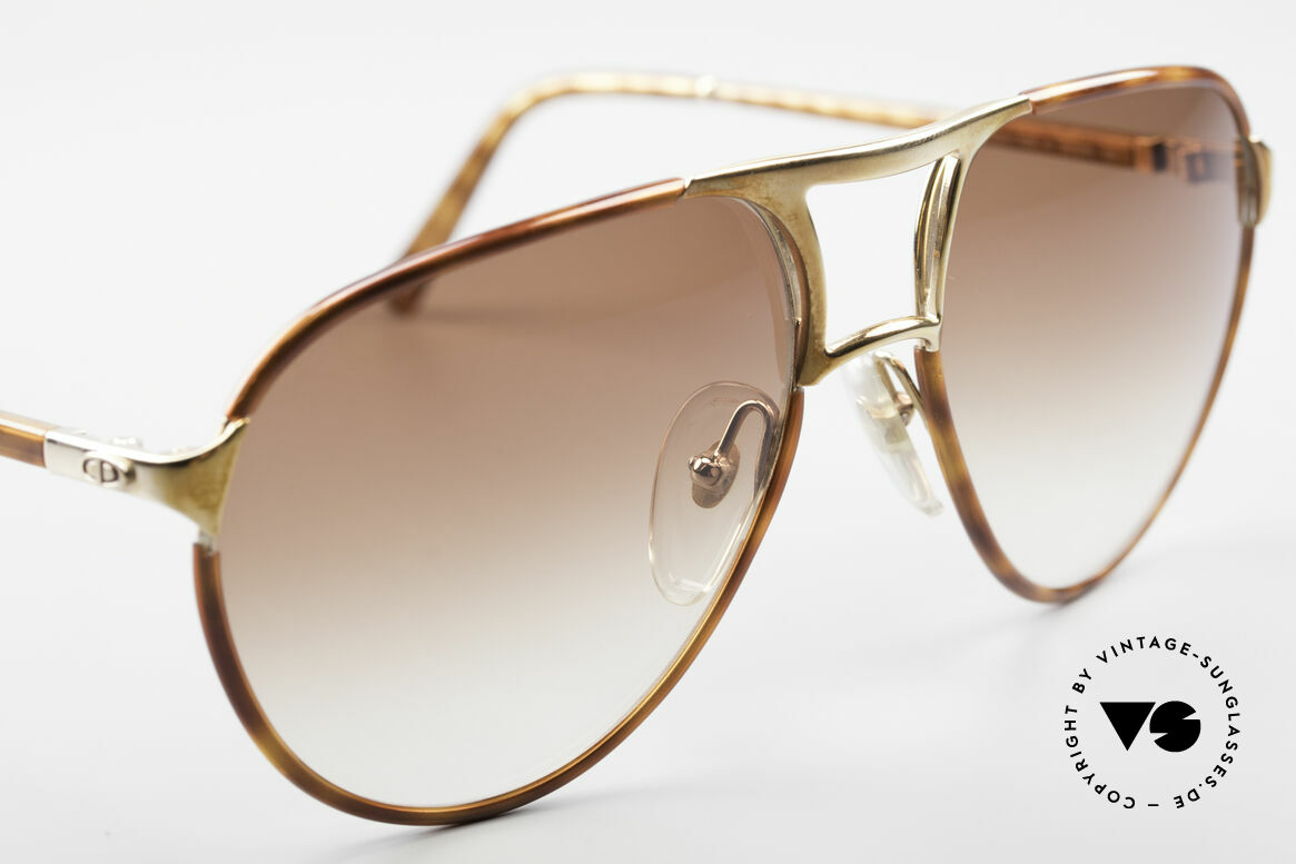 Christian Dior 2505 Designer Aviator Sonnenbrille, ungetragen (wie alle unsere 1980er Dior Brillen), Passend für Herren