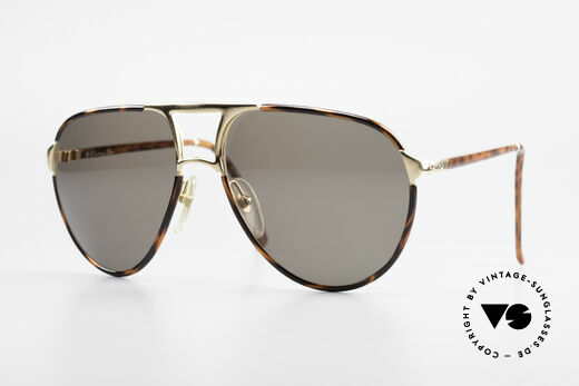 Christian Dior 2505 Aviator Designer Sonnenbrille Details