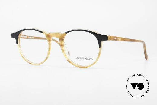 Giorgio Armani 301 Johnny Depp Stil Panto Brille Details