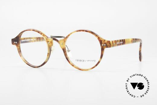 Giorgio Armani 341 Vintage Panto Brillenfassung Details