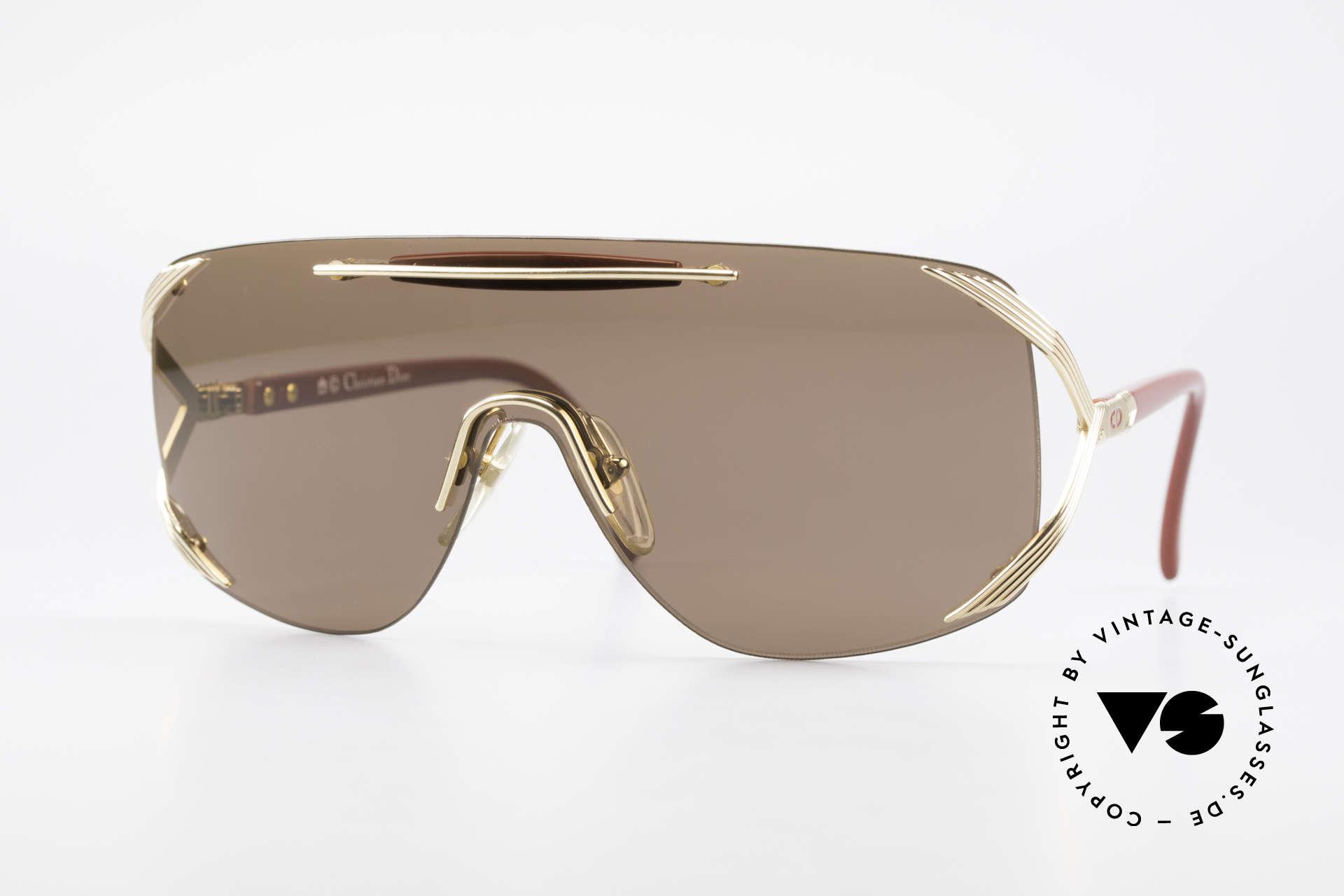 Christian Dior 2434 Rihanna Vintage Sonnenbrille, luxuriöses Christian Dior Design der 80er/90er, Passend für Damen