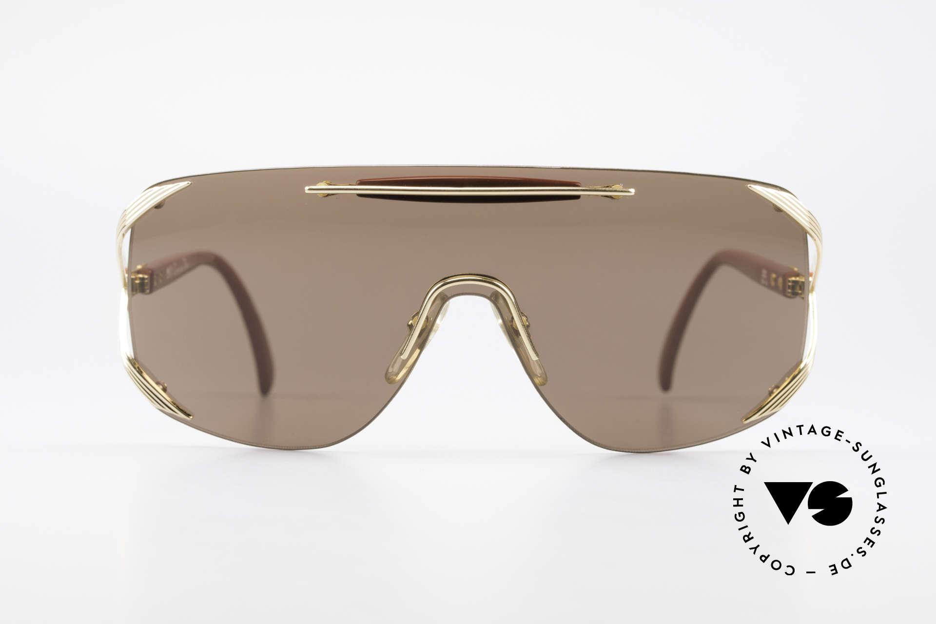 """Christian Dior 2434 Rihanna Vintage Sonnenbrille, ein durchgehendes Glas; sogen. """"Shield Design"""", Passend für Damen"""