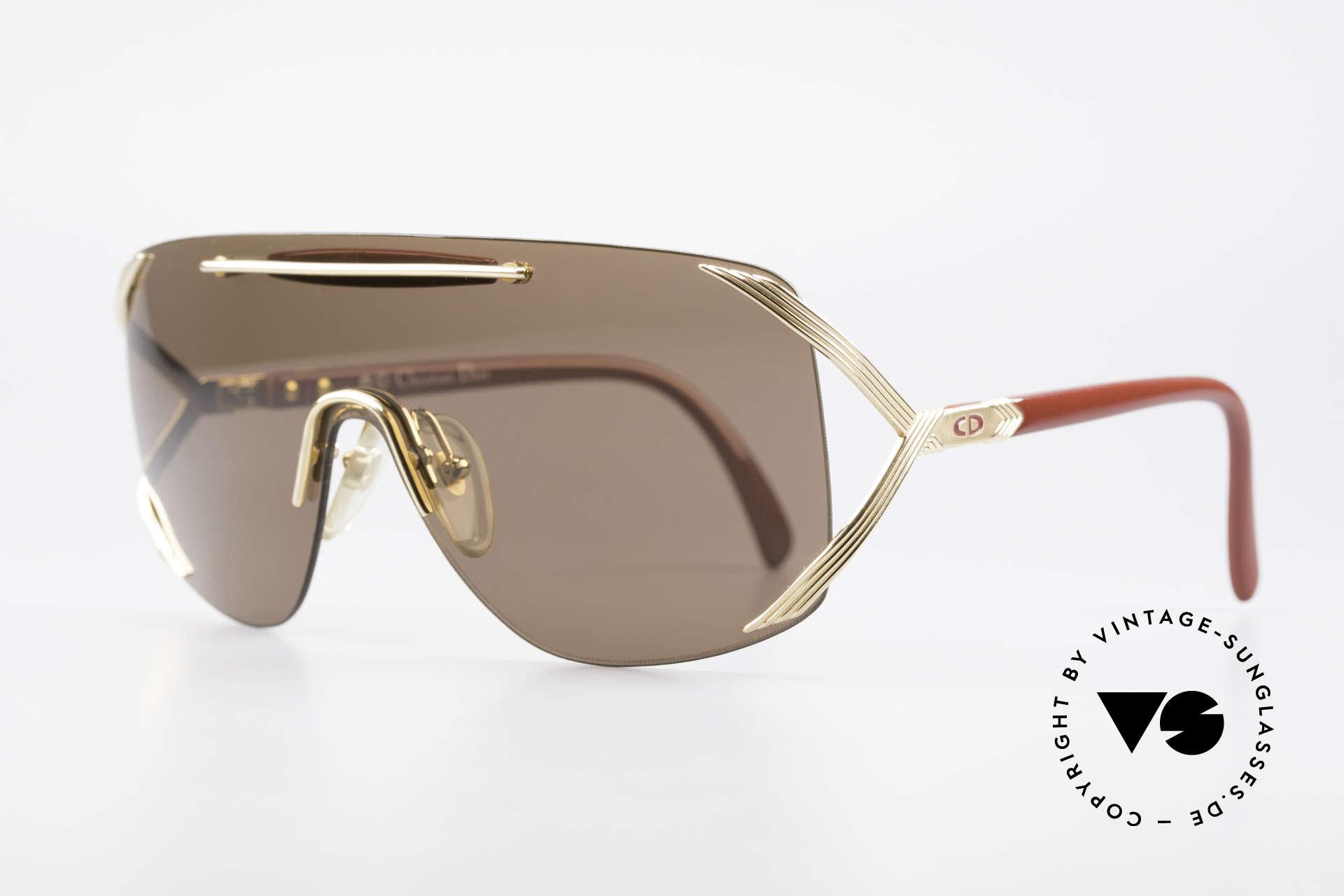 Christian Dior 2434 Rihanna Vintage Sonnenbrille, brilliantes, sehr seltenes Modell mit neuem Etui, Passend für Damen