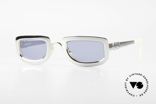 Christian Dior 2972 Designerbrille Silber Perlmutt Details