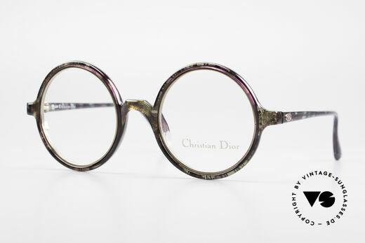 Christian Dior 2540 Runde 90er Damenbrille Vintage Details