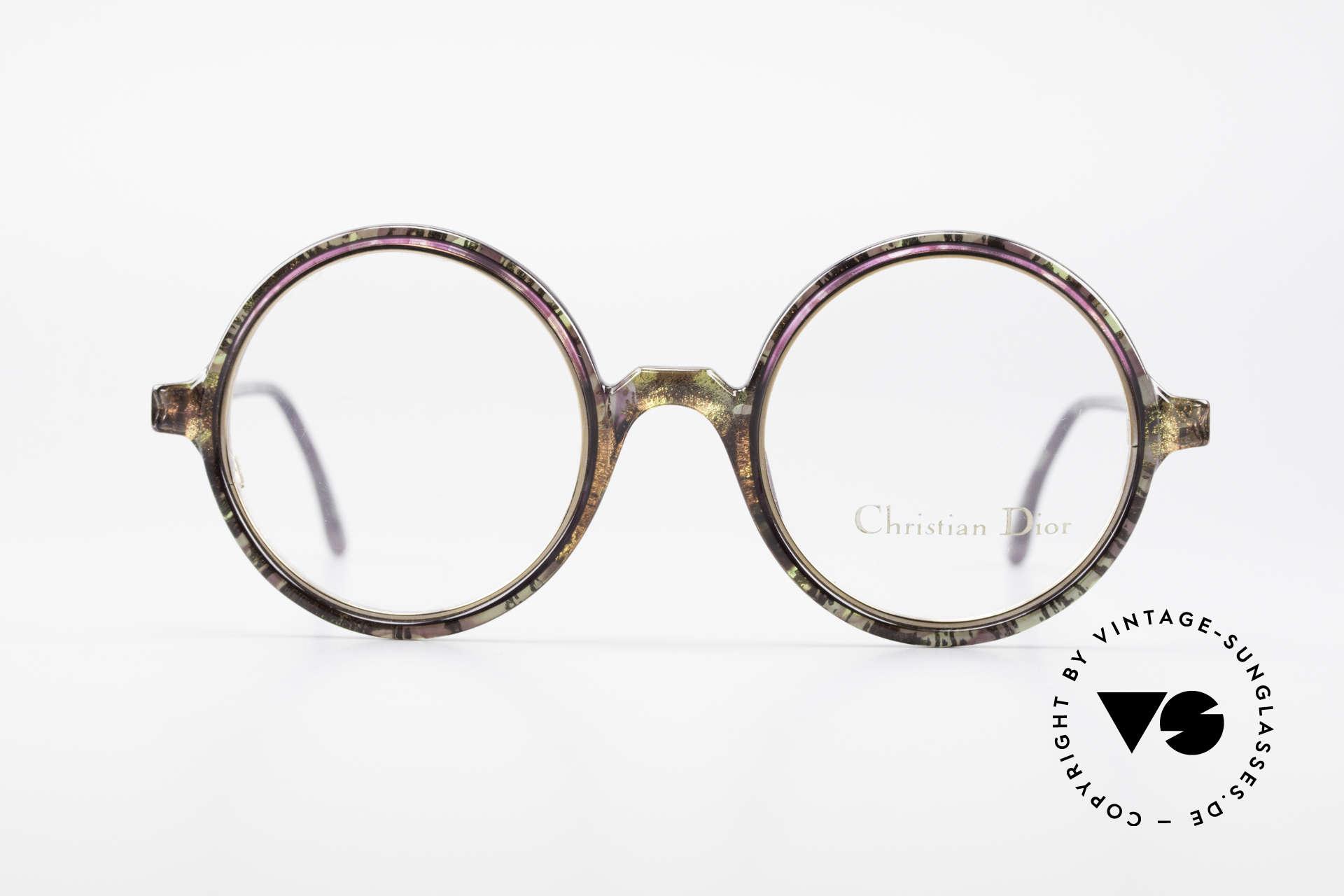 suchen Schnäppchen für Mode besserer Preis Christian Dior 2540 Runde 90er Damenbrille Vintage
