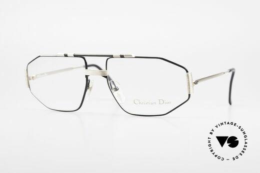 Christian Dior 2516 Vergoldete Vintage Brille 80er Details