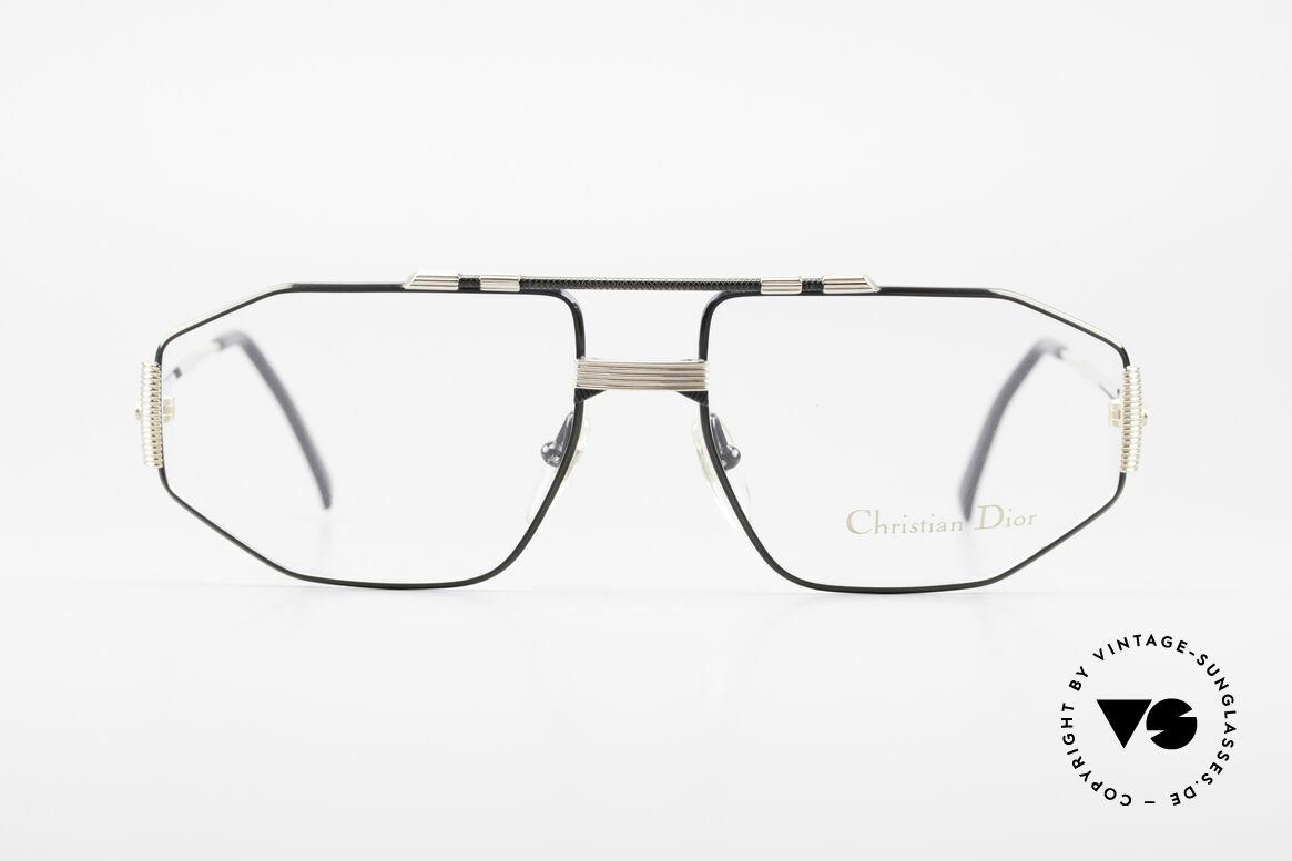 Christian Dior 2516 Vergoldete Vintage Brille 80er, elegantes Modell für den kosmopolitischen Herren, Passend für Herren